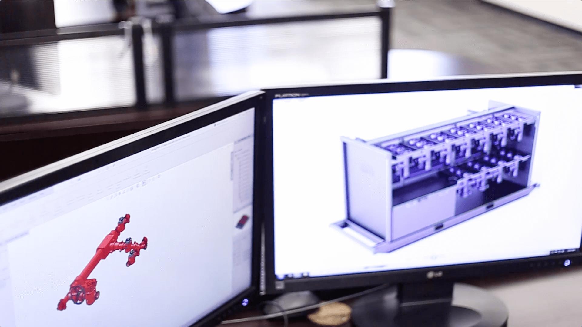 UT Mapping & 3D Renderings